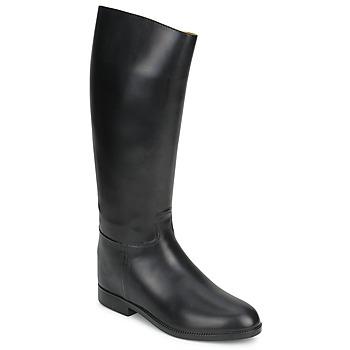 Shoes Női Városi csizmák Aigle ECUYER M Fekete
