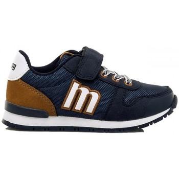 Cipők Gyerek Rövid szárú edzőcipők MTNG ZAPATILLAS NIÑO MUSTANG 48301 Kék