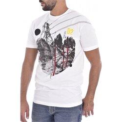 Ruhák Férfi Rövid ujjú pólók Dsquared S74GD0266 Fehér