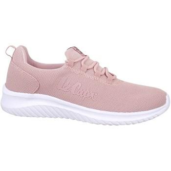 Cipők Női Rövid szárú edzőcipők Lee Cooper Lcw 21 32 0273L Rózsaszín