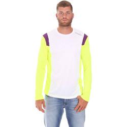 Ruhák Férfi Hosszú ujjú pólók Diadora 102175720 Fehér