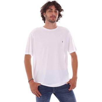 Ruhák Férfi Rövid ujjú pólók Navigare NV31126 Fehér