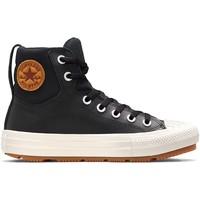 Cipők Gyerek Magas szárú edzőcipők Converse 271710C Fekete