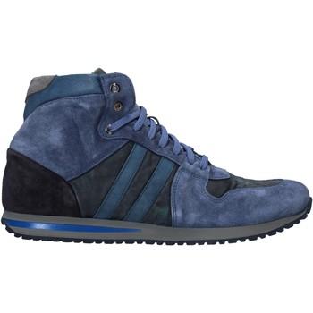 Cipők Férfi Magas szárú edzőcipők Rogers 02 Kék