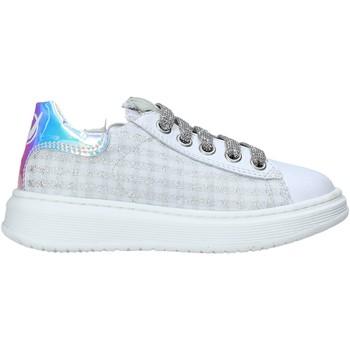Cipők Gyerek Rövid szárú edzőcipők Naturino 2014740 10 Fehér