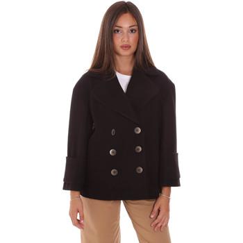 Ruhák Női Kabátok Fracomina FR21WC1013W49301 Fekete