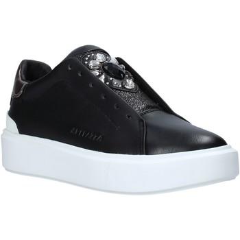 Cipők Női Rövid szárú edzőcipők Apepazza F1PIMP05/LEA Fekete