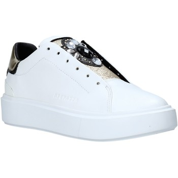 Cipők Női Rövid szárú edzőcipők Apepazza F1PIMP05/LEA Fehér