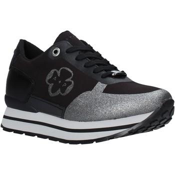 Cipők Női Rövid szárú edzőcipők Apepazza F1RSD16/NYL Fekete