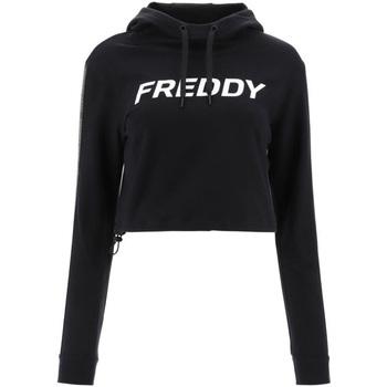 Ruhák Női Pulóverek Freddy F1WFTS3 Fekete