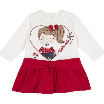 Ruhák Lány Rövid ruhák Chicco 09003962000000 Piros