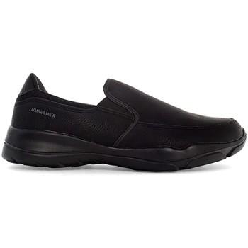 Cipők Férfi Belebújós cipők Lumberjack SMA9402 002 S01 Fekete