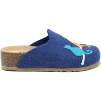 Cipők Női Mamuszok Bionatura 12BLMOO-I-FELB88 Kék