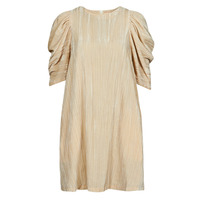 Ruhák Női Rövid ruhák Moony Mood  Bézs