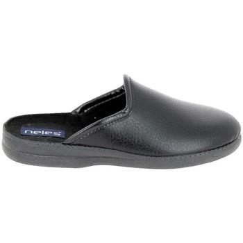 Cipők Férfi Mamuszok Boissy JH9624 Noir Fekete