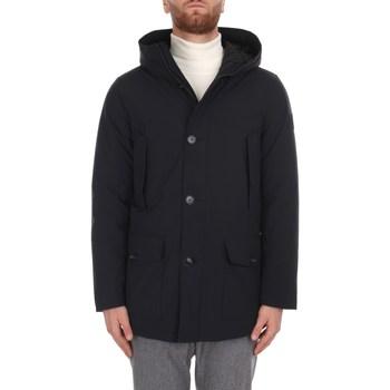 Ruhák Férfi Steppelt kabátok Woolrich CFWOOU0465MRUT0102 100 Black