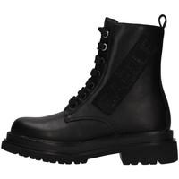 Cipők Lány Bokacsizmák GaËlle Paris G-1232 BLACK
