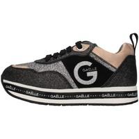Cipők Lány Rövid szárú edzőcipők GaËlle Paris G-1114 BLACK