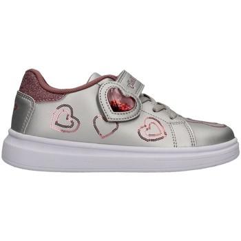 Cipők Lány Rövid szárú edzőcipők Lelli Kelly LK4820 SILVER