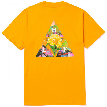 Ruhák Férfi Rövid ujjú pólók Huf T-shirt new dawn tt ss Citromsárga