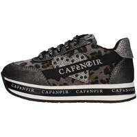 Cipők Lány Rövid szárú edzőcipők Café Noir C-1491 GREY