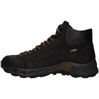 Cipők Férfi Magas szárú edzőcipők IgI&CO 8140233 BLACK