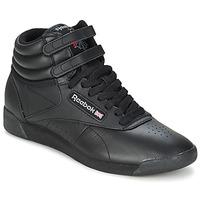 Cipők Magas szárú edzőcipők Reebok Classic FREESTYLE HI Fekete