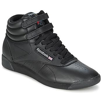 Cipők Női Rövid szárú edzőcipők Reebok Classic FREESTYLE HI Fekete