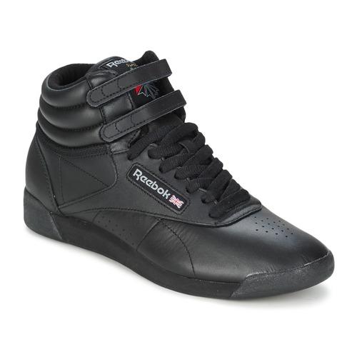 Cipők Női Magas szárú edzőcipők Reebok Classic FREESTYLE HI Fekete