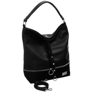 Táskák Női Kézitáskák Badura 89660 Fekete