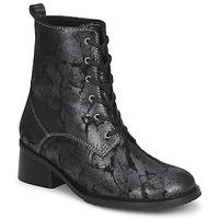 Cipők Női Bokacsizmák Tiggers ROMA Fekete