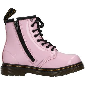 Cipők Lány Bokacsizmák Dr Martens 1460T PINK