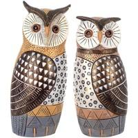 Otthon Szobrok, figurák Signes Grimalt Ábra Owl 2 Egység Multicolor