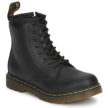 Cipők Gyerek Csizmák Dr Martens DM J BOOT Fekete