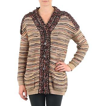 Ruhák Női Mellények / Kardigánok Antik Batik WAYNE Bézs