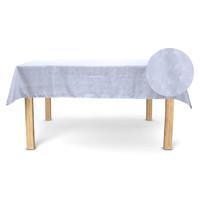 Otthon Asztalterítő Nydel ABANICO Fehér