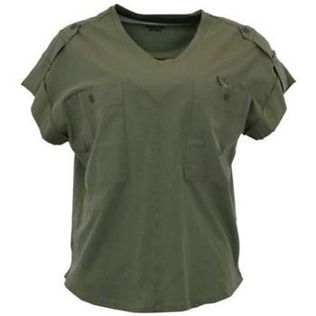 Ruhák Női Rövid ujjú pólók Aeronautica Militare TS1883 Zöld