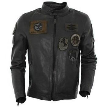 Ruhák Férfi Kabátok Aeronautica Militare PN5011 Fekete