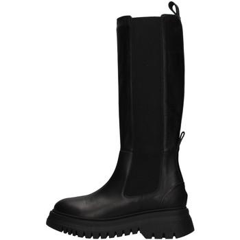Cipők Női Városi csizmák Janet&Janet 02204 BLACK