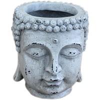 Otthon Vázák, beltéri kaspók Signes Grimalt Buda. Blanco