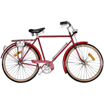 Otthon Szobrok, figurák Signes Grimalt Kerékpárfal Dísz Rojo