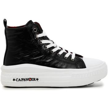 Cipők Női Magas szárú edzőcipők Café Noir DM9250 Fekete
