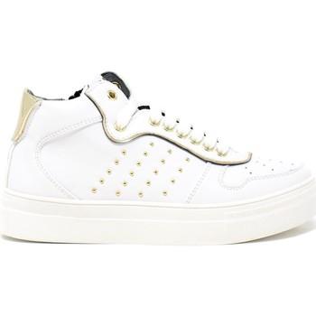Cipők Gyerek Rövid szárú edzőcipők 4us 4U-062 Fehér