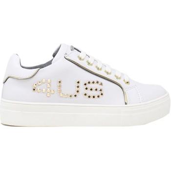 Cipők Gyerek Rövid szárú edzőcipők 4us 4U-064 Fehér