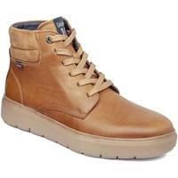 Cipők Férfi Magas szárú edzőcipők CallagHan 45508 Barna