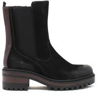 Cipők Női Bokacsizmák Wrangler WL12601A Fekete