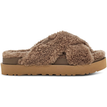 Cipők Női Mamuszok UGG UGSFUZSHCK1120860W Barna