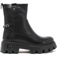 Cipők Női Bokacsizmák Keys K-5750 Fekete