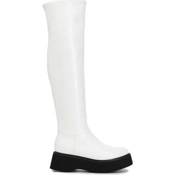 Cipők Női Combcsizmák Café Noir FL9030 Fehér