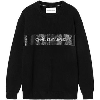 Ruhák Férfi Pulóverek Calvin Klein Jeans J30J317119 Fekete